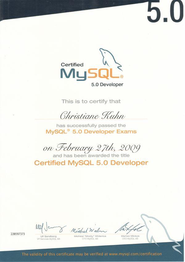 MySQL-Certified